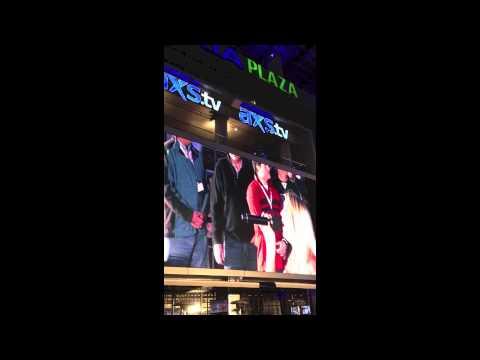 Kellie Lynne- Singing The National Anthem in Los Angeles, CA