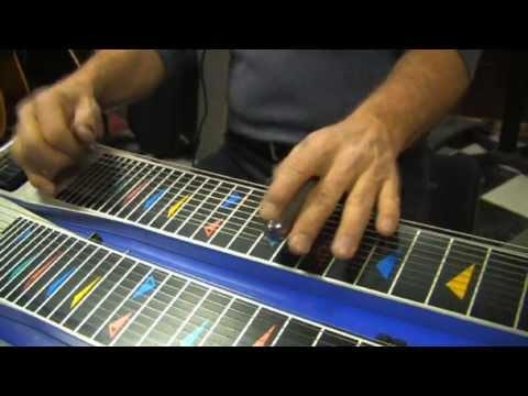 """A Night In Tunisia"" & ""Lady Bird"" on Steel Guitar by John Heinrich!"