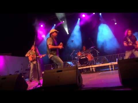 "FLYNNVILLE TRAIN - 14e French Riviera Festival - ""Crossroads"" & ""Midnight Rider"""