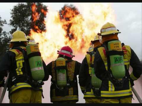 Australian Bushfire's Hard Hat Heroes
