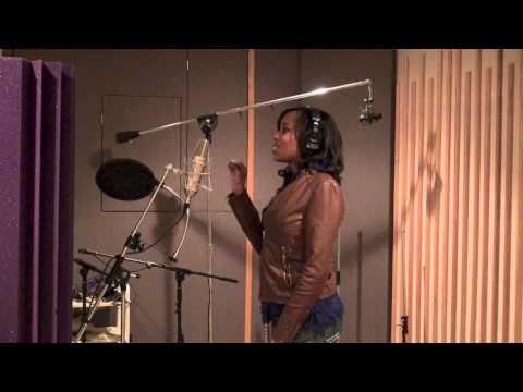 Monaye Recording At (Dr. Fink) Studio