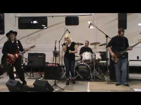 Chrisy & The Bluescreamers -Practice session A Woman's Love (Live)