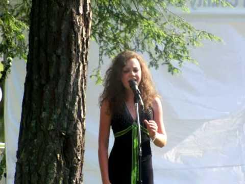 "Celine Dion - ""My Heart Will Go On"" - by Mackenzie Morgan, age 13"