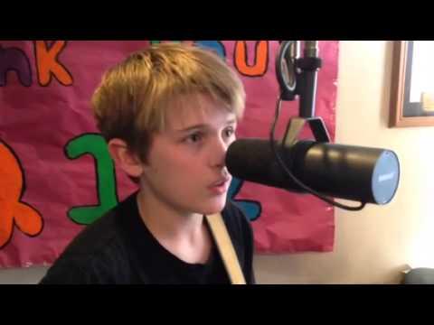 John-Robert Rimel sings for Chris & Rosie
