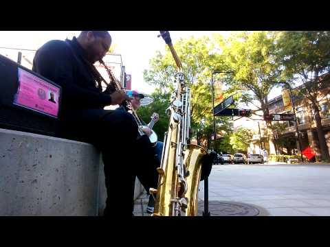 Soprano Saxophone vs Banjo. Jazz meets Bluegrass
