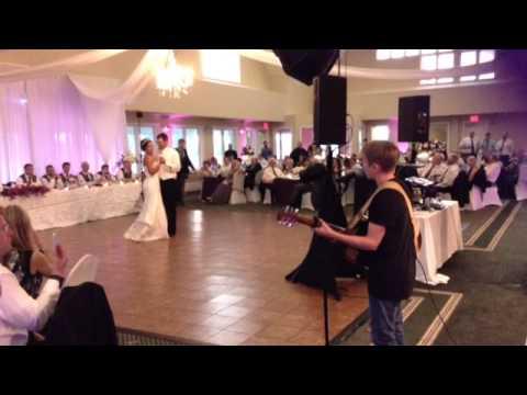 """John-Robert Rimel Performing """"Bless The Broken Road"""" Wedding Singer Rehearsal/Reception"""