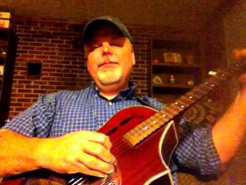 On My Gold Tone Dojo, Playing An Old Hymn.