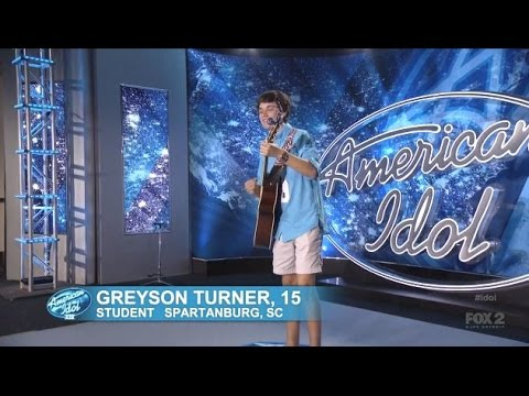 Greyson Turner - Audition - American Idol 2015