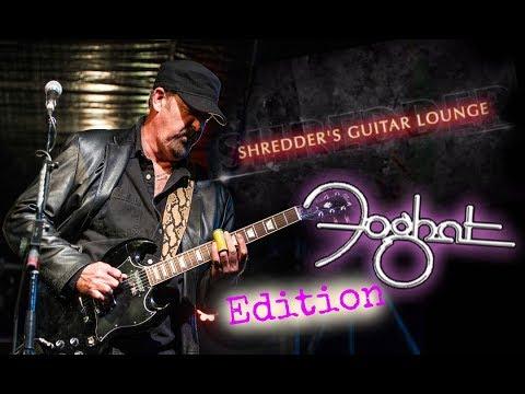 Shredder's Guitar Lounge FOGHAT EDITION: Gear Talk with Bryan Bassett