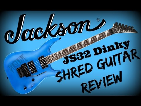 Shredder's Guitar Lounge: Jackson JS32 Dinky Guitar Review and Demo