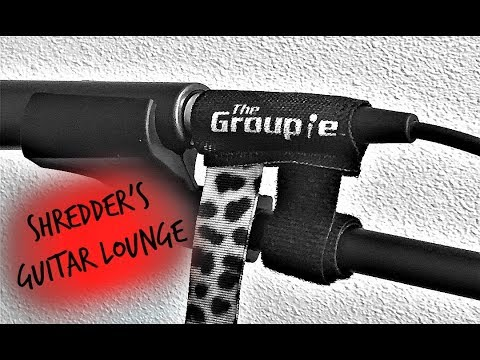 Shredder's Guitar Lounge: The Groupie Cord Solution at Summer NAMM 2017