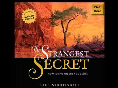 Audiobook - The Strangest Secret by Earl Nightingale
