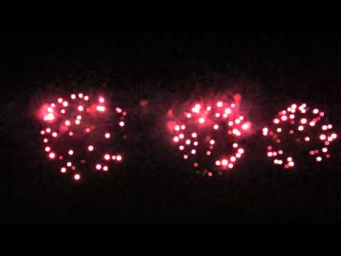 EAA Airventure 2011 Night Airshow Fireworks