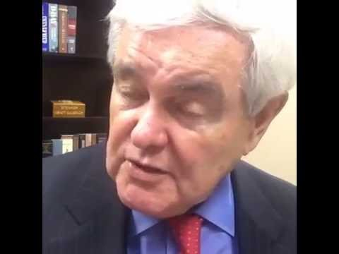 Newt Gingrich Answering questions and discussing #Comey's betrayal of the public trust