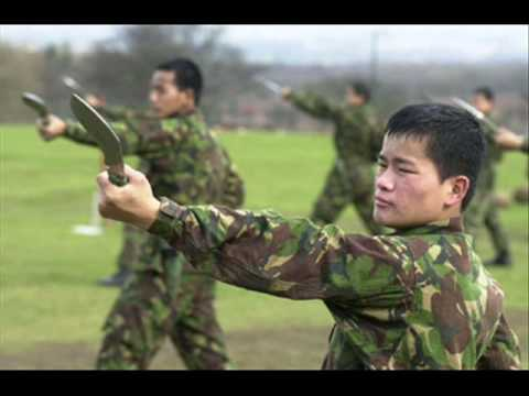 Tribute to the Gurkhas