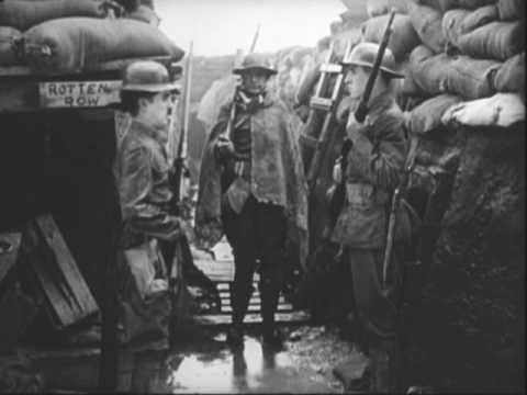 Charlie Chaplin - Getting Used to Trench Life