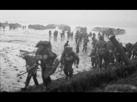 Walcheren 1944 - Royal Marines landing