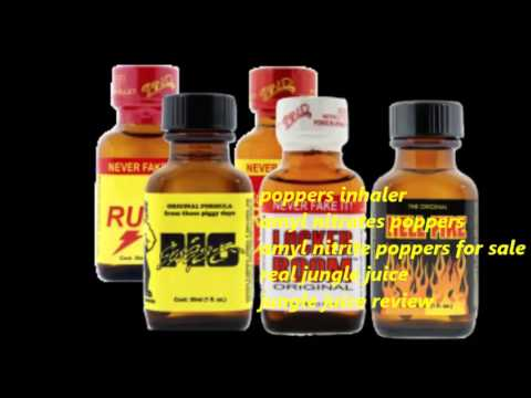 Amyl Nitrates Poppers