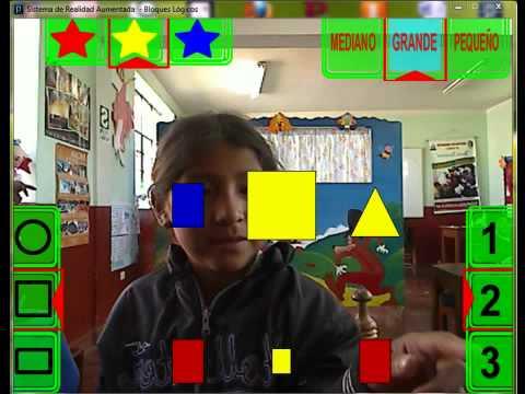 Juego de Bloques Lógicos mediante el uso de la Realidad Aumentada