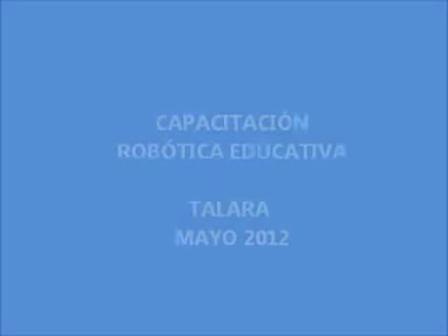 ROBOTICA EDUCATIVA WEDO en Talara   2012
