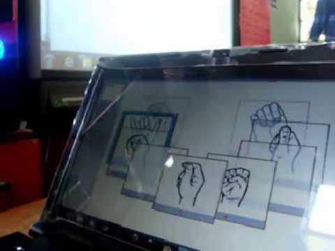 Proyecto de Televisión 3D y el Lenguaje de Señas - ASL
