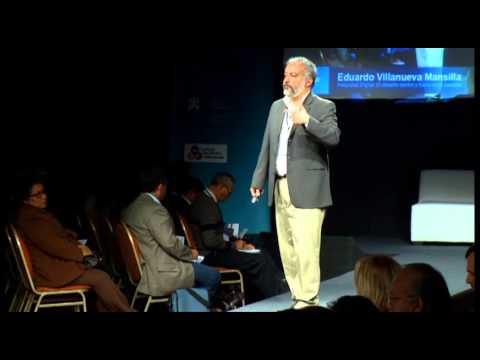 Conferencia de Eduardo Villanueva desde Lima