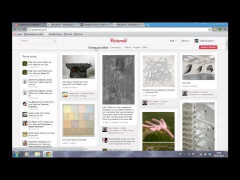 Video Tutorial de Pinterest en español