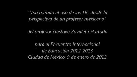 Una mirada al uso de TIC desde México