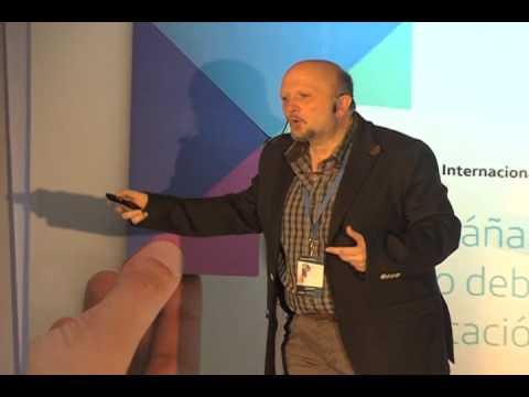Juan Domingo Farnós en el Encuentro Internacional de Educación en Caracas