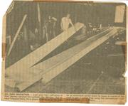 airfoil being built