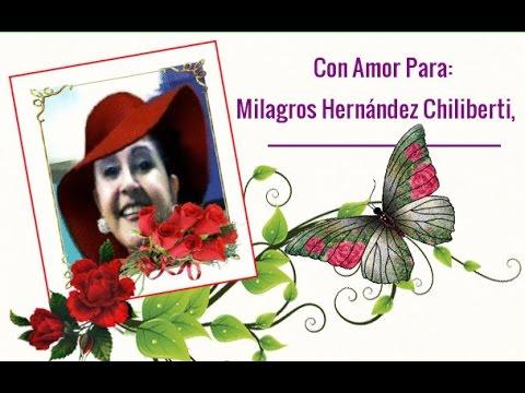 Tus ojos  Para   Milagros Hernández Chiliberti