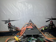 """525 finalized... I added to metal """"landing gears"""" as Holders and board protection"""