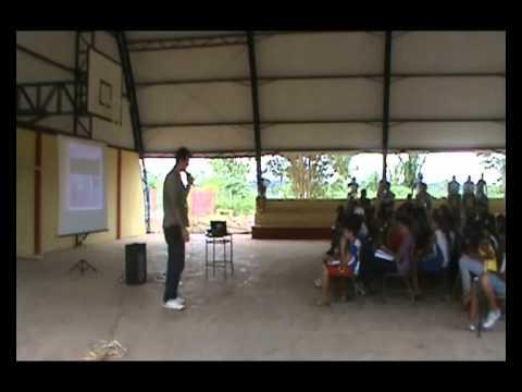 Exposição Oficina UHE Teles Pires na Escola Municipal Maria Quitéria