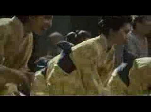 Japanese tap dance from 'Zatoichi'