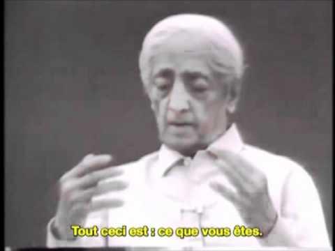 Jiddu Krishnamurti - Qui êtes-vous ? - vostfr