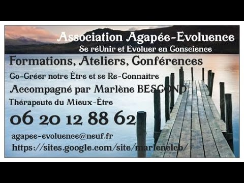 Présentation de la chaine et de l'Association Agapée-Evoluence