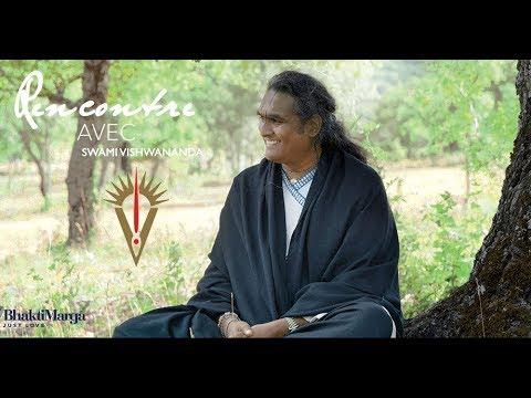 Rencontre avec Swami Vishwananda