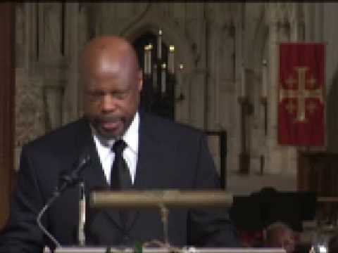 Solo by Wintley Phipps at Inaugural Prayer Service