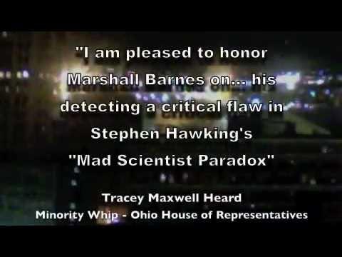 Marshall Barnes: True Physics of Time Travel Tour
