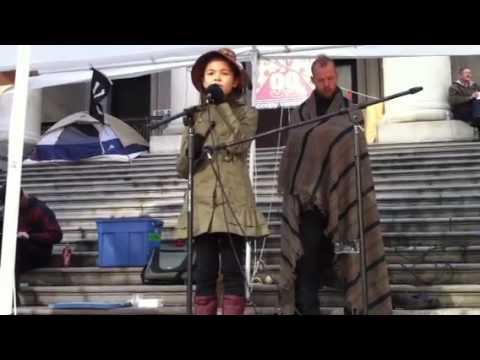 Earth Revolution - Ta'kaiya Blaney - Occupy Vancouver