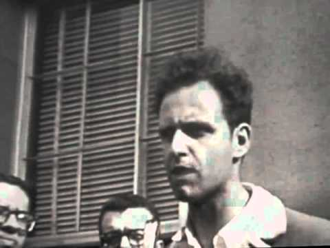 Mario Savio on the operation of the machine