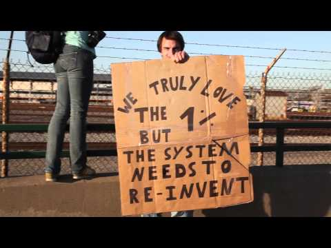 Love in Action : Poet Drew Dellinger at Occupy Oakland