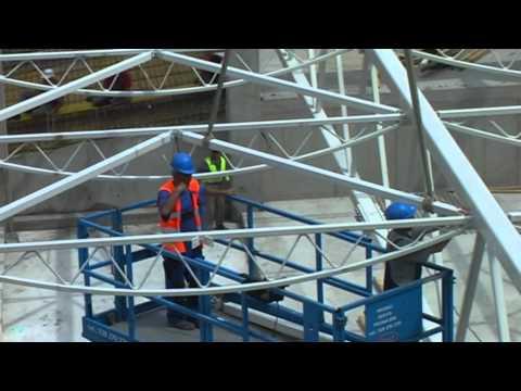 Stavba zimáčku - 19. díl - Vzniká střecha!