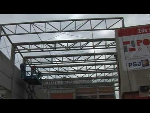 Stavba zimáčku - 22. díl - Divácká tribuna