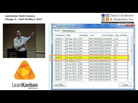LKNA13: Cycle Time Analytics - Using Data to Make Better Forecasts and Decisions - Troy Magennis