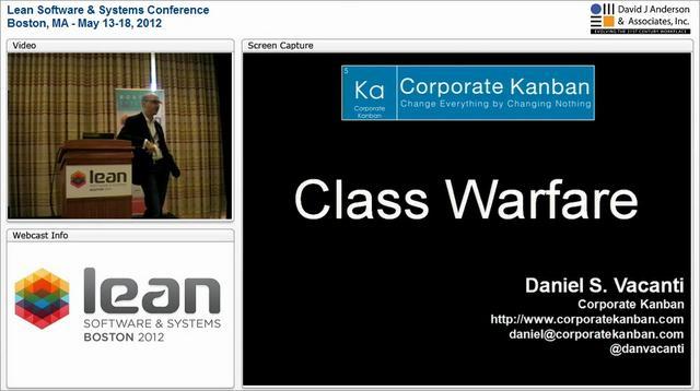 LSSC12: Class Warfare - Daniel Vacanti