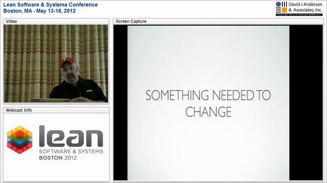 LSSC12: Stop Doing Kanban! Start Learning - Chris Shinkle