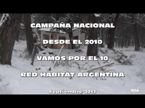 2013 Campaña Nacional VAMOS POR EL 10 Red Hábitat Argentina