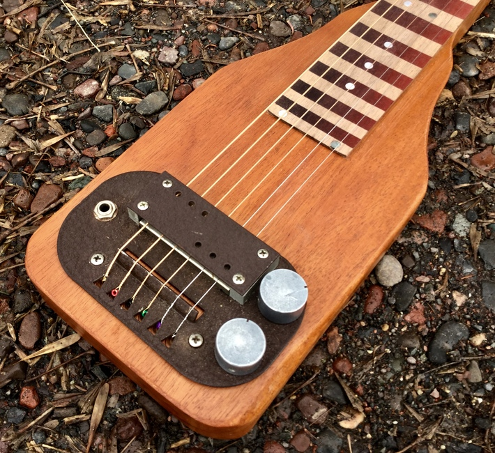 Supro pickup and control plate