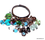 Retro / Vintage Inspired Fashion Jewelry - Bracelet & rings